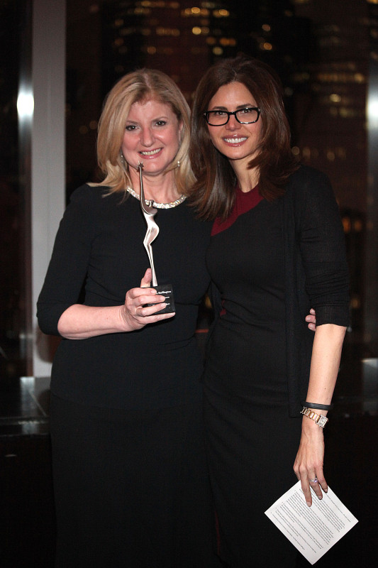 Arianna Huffington, Desiree Gruberphoto by R.Cole for Rob Rich copyright 2014